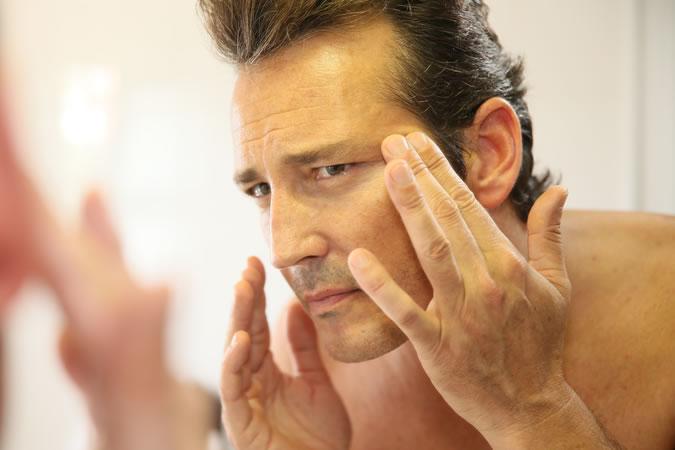 La piel del hombre por edades 40 años