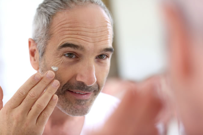 La piel del hombre por edades 50 años